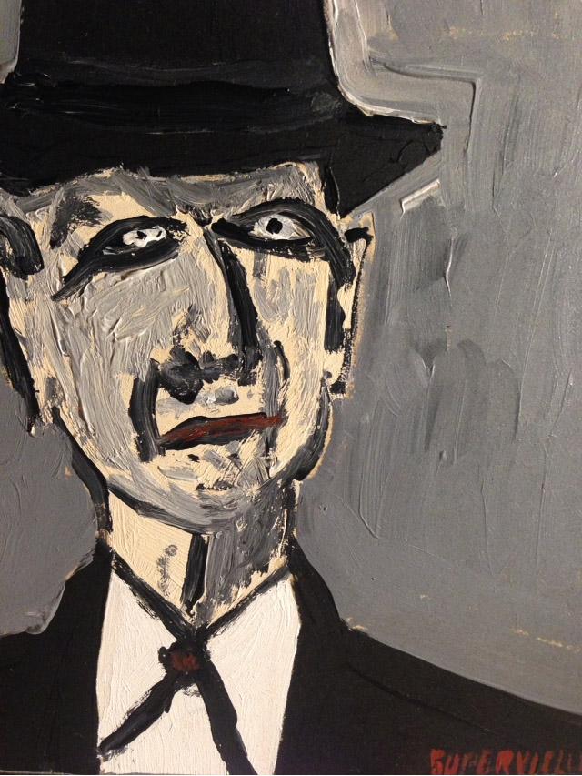 Leonard Cohen - 30x30cm