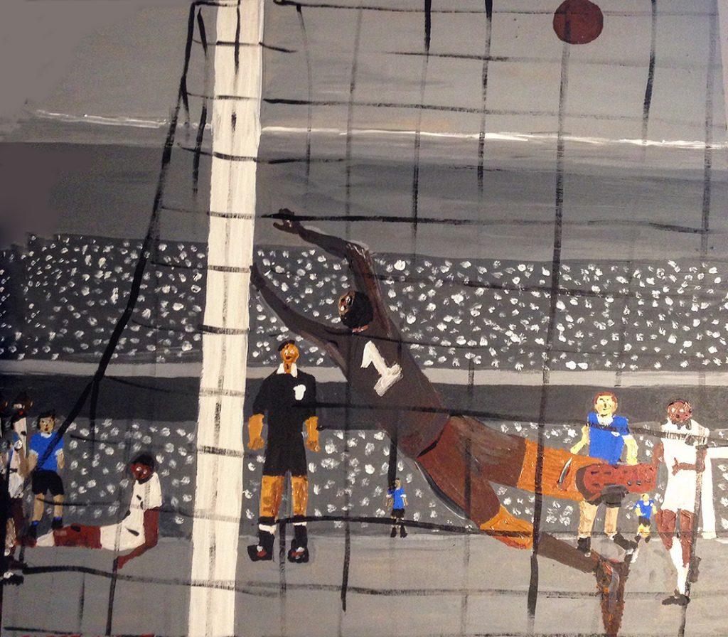 El gol olvidado - 50x50cm