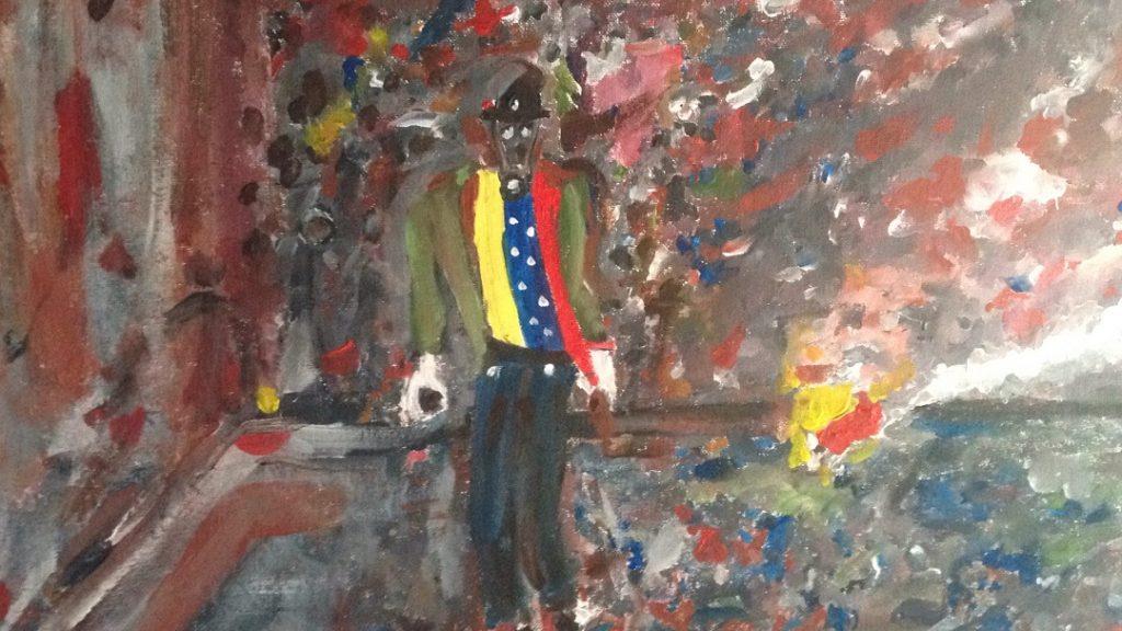 Venezuela Resistencia III - 25x25cm