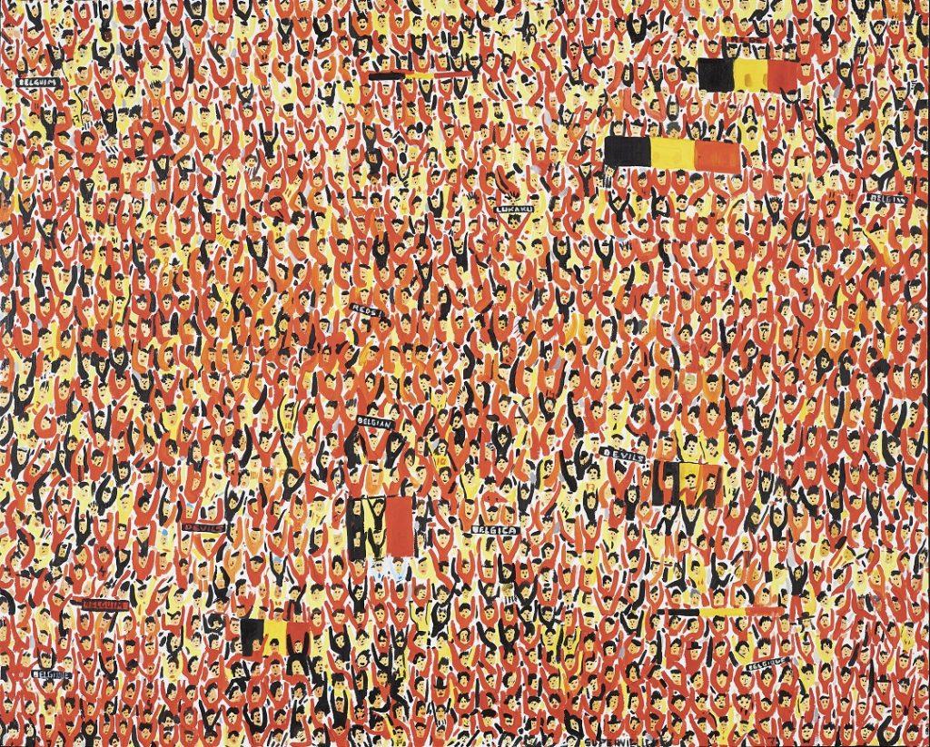 Bélgica - 100x80cm